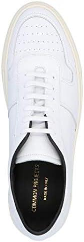 COMMON PROJECTS Luxury Fashion Homme 22500502 Blanc Cuir Baskets   Printemps-été 20