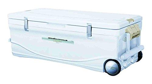 シマノ(SHIMANO) クーラーボックス 大型 60L スペーザ ホエール リミテッド キャスター付 600HC-060I 釣り用 アイスホワイトの商品画像