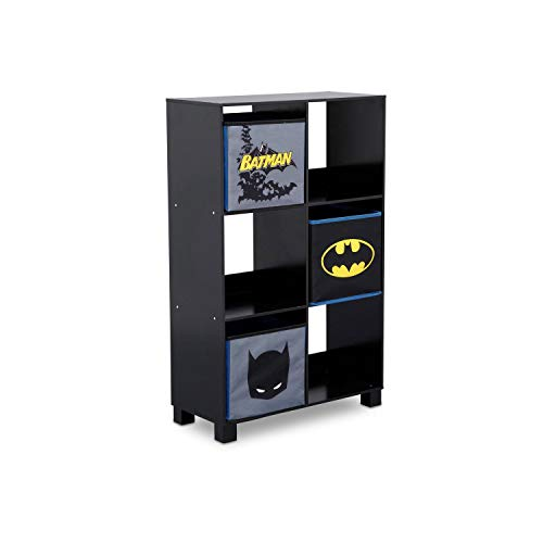 (Delta Children 6 Cubby Deluxe Storage Unit, DC Comics Batman)