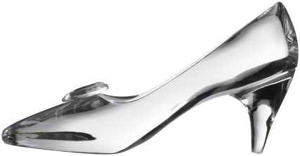 Dollhouse Miniature Cinderella Glass Slipper Shoes by Hudson River HR57019