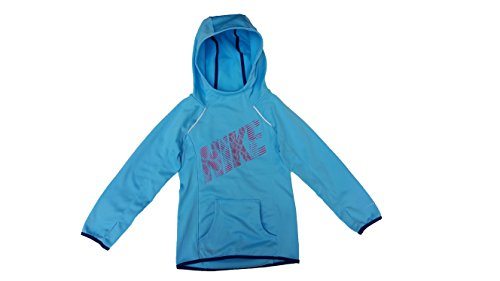 Nike Kids Women's Epic Flash OTH Fleece (Little Big Kids), Tide Pool Insignia Blue, XS (6X