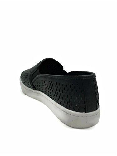 Soda Womens Slip On Sneakers - Punta Chiusa Nera