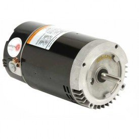 US Motors ASB130 or EB130, 2 HP, Single Speed, 3450 RPM Pool and Spa - Pump Motor Pool Keyed Shaft