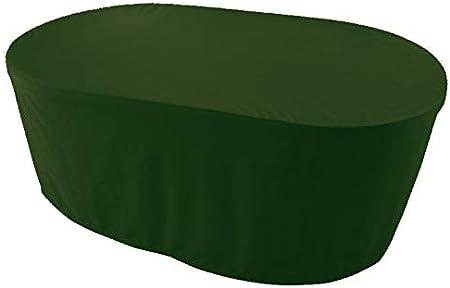 Garden Point Copertura per mobili 150 x 150 Verde Perfetto per Coprire mobili da Giardino