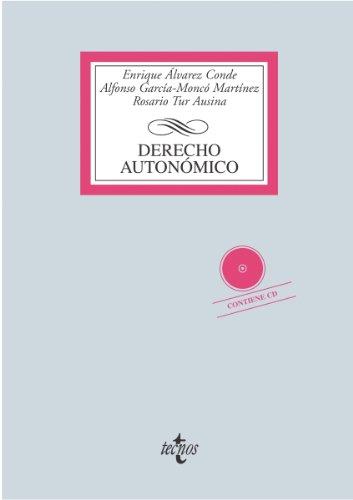 Descargar Libro Derecho Autonómico Enrique Álvarez Conde