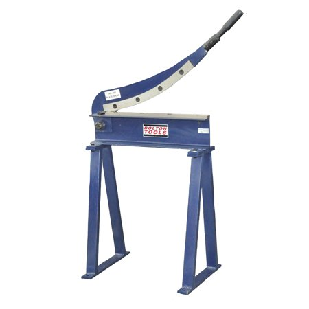 BOLTON TOOLS 20'' Hand Shear - SHEARS. Bed width: 19 5/8'', Maximum shear mild steel thickness: 16 gauge