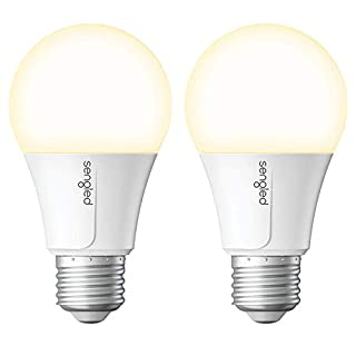 Sengled Smart Light Bulb, WiFi Light Bulbs That Work with Alexa & Google Home, No Hub Required, Smart LED Light Bulb A19 Soft White Light (2700K), 2 Pack