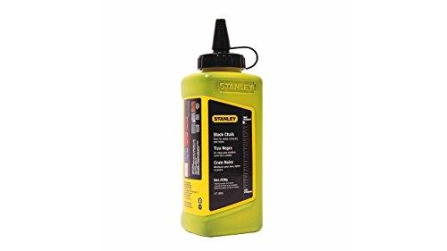 Prasertsteel Chalk Powder Refill Size 8 Oz. (Black) 47-808