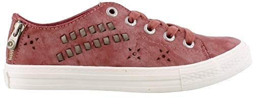 Blowfish Kalvin Fashion Sneakers, Ash Rose Cecilia PU, Women Size 7 B(M) US