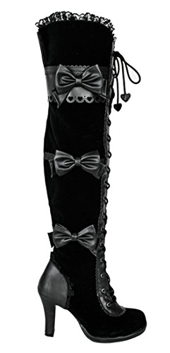 SharpSpirit Thigh High Victorian Cosplay Steampunk Halloween ...