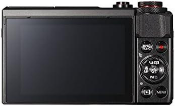Canon PowerShot Digital Camera [G7 X Mark II] with Wi-Fi & NFC, LCD Screen, and 1-inch Sensor – Black, 100 – 1066C001 31OHTRSwSNL