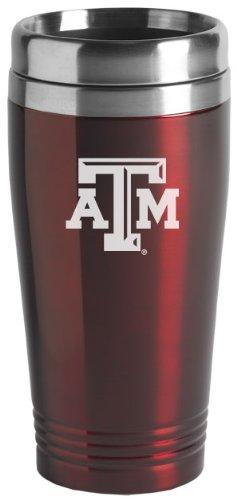 Texas A&m Aggies Tumbler (Texas A&M University - 16-ounce Travel Mug Tumbler -)