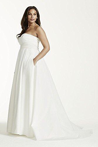 Empire Waist Plus Size Wedding Dresses