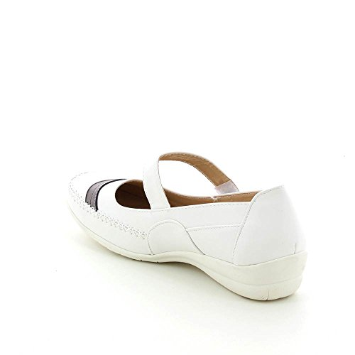 Bianco 44 Big Piatti Taglia Neonati Balletto Di Ultra Size Confortevoli 41 7BqwF
