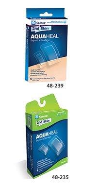 (Spenco Medical Corp 48-235-00 2nd Skin AQUAHEAL Bandage Sport 6/Bx)