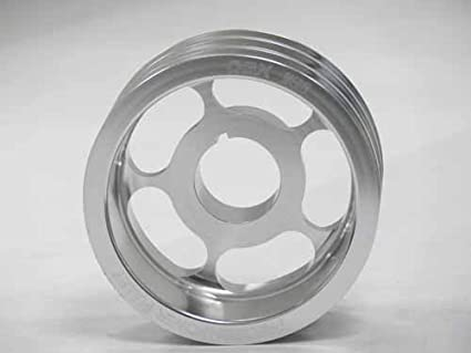 OBX Silver Underdrive Crank Pulley 86-92 Toyota Supra Turbo and N/A