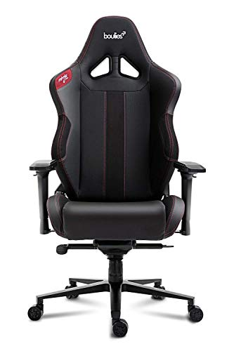 boulies Ninja Pro Gaming Chair Office Chair Multi-Function Racing Chair Adjustable Ergonomic Computer Desk Chair with 4D Armrests - Black