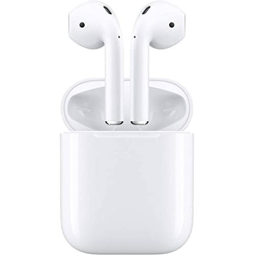 Apple AirPods - Auriculares inalámbricos de botón, Color Blanco