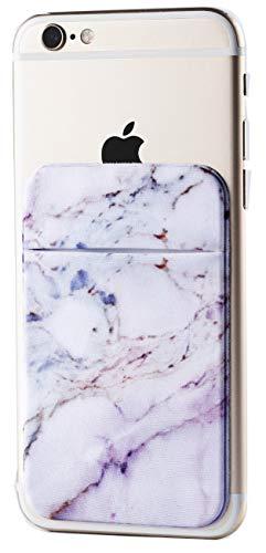 2Pack Marble Adhesive Phone Pocket