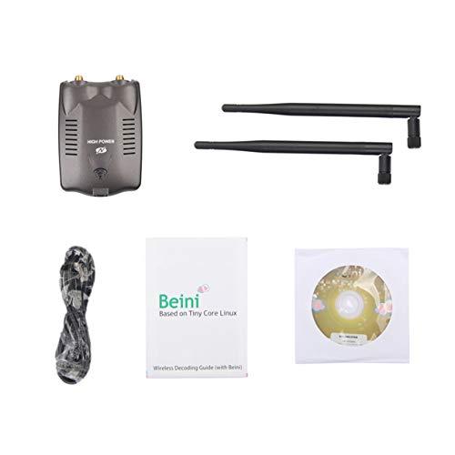 BT-N9100 high-Power Wireless Network Card,BT-N9100 High-Power Wireless Network Card PC Wireless Access Point USB WiFi Adapter Dual Antenna Get WiFi Freely from Ironheel