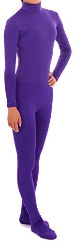 VSVO Women's Lycra Spandex Zentai Unitard Catsuit (XX-Large, Purple) ()