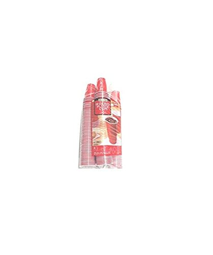 Daily Chef Red Plastic Cups, 240 Count