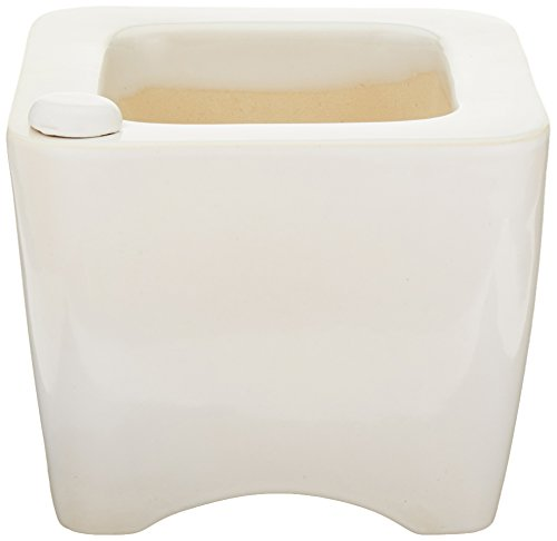Oasis Ceramic Self Watering Planter 4 Round White Buy Online