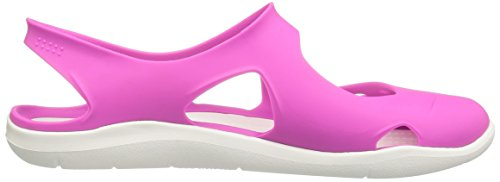 Crocs Swiftwater Vibrant Wave Women's Violet Sandal 77fqv5wr
