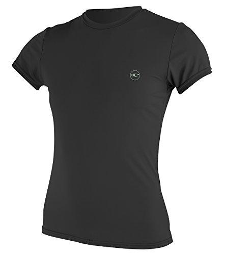 O'Neill Wetsuits Womens Basic Skins Upf 30 + Short Sleeve Sun Shirt