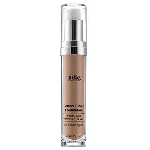 Jolie Perfect Finish Liquid Foundation Makeup SPF 15 Oil Free (MC2) ()