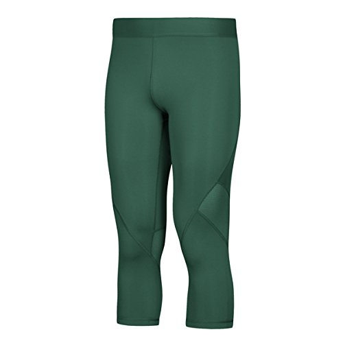adidas AlphaSkin Compression ThreeQuarter Tight Mens Training L Dark Green for $<!--$31.45-->