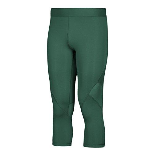 adidas AlphaSkin Compression ThreeQuarter Tight Mens Training L Dark Green for $<!--$34.93-->