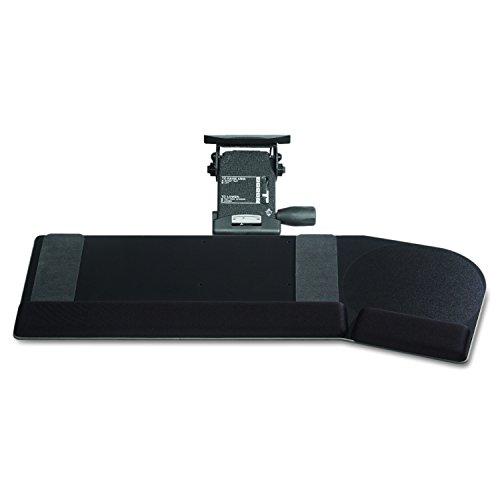 (Kelly Computer Supply 69505 Lever Less Lift N Lock California Keyboard Tray, 28 x 10, Black)