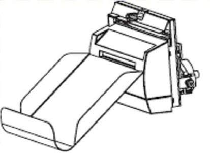 New - Zebra Cutter with Catch Tray for ZM600 Printer - 79842 (Cutter Tray Catch Zebra)