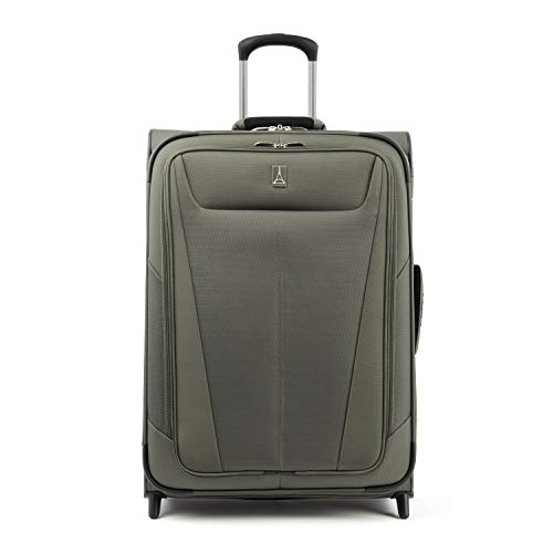 Travelpro Luggage Expandable Checked-Medium, Slate Green