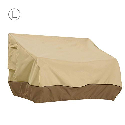(cherrysong Reusable Revolution Loveseat Lounge Cover, Patio Bench Cover-Outdoor Loveseat Lounge Cover Water Proof, Patio Outdoor Bench/Long Chair/Loveseat Cover,S/M/L)