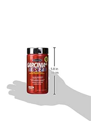 MuscleTech Garcinia 4X SX7 80 Caplets