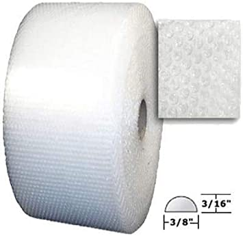 Best Bubble in The Industry Protect Your Items!- 2 Pack uBoxes Bubble Roll 200 feet x 12 inch 3//16 inch Perforated Small Bubble