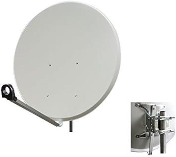 Antena faval 100 cm Acero Gris Claro Espejo – Antena ...