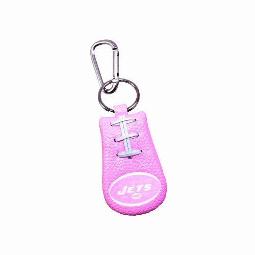 GameWear New York Jets Pink NFL Football Keychain