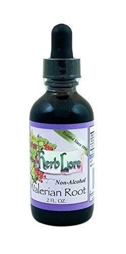 Organic Valerian Root Tincture - Non Alcohol 2 Ounces - Herb Lore - Liquid Valerian Drops - Safe for Kids and Adults - Natural Sleep Aid and Anxiety Relief