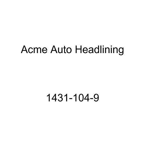 Acme Auto Headlining 1431-104-9 Dark Green Replacement Headliner (1953 Chevy Bel Air & Pontiac Chieftain Deluxe 4 Door Sedan 8 Bow)