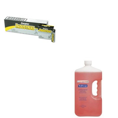 Price comparison product image KITCPM01903CTEVEEN91 - Value Kit - Softsoap Antibacterial Hand Soap (CPM01903CT) and Energizer Industrial Alkaline Batteries (EVEEN91)