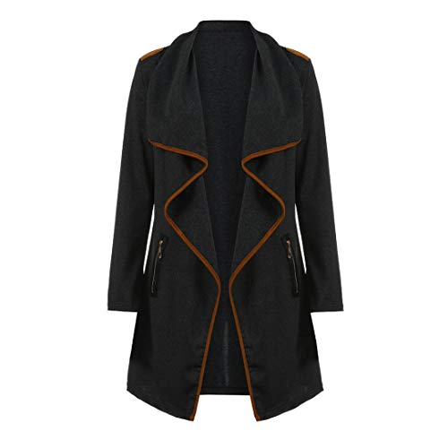 eb6ee68f4804d UONQD Women Outwear Coat Knitted Casual Long Sleeve Tops Cardigan Jacket  (X-Large