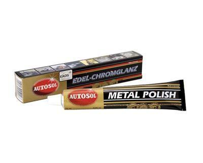 Autosol Chrome Polish Metal & Aluminium Cleaner, 75ml/100gm
