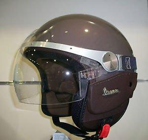 Vespa GranTurismo 605477M05E - Casco para motocicleta, talla XL, color marró ...