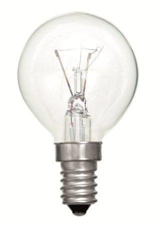 Aparato del horno G45 redondo Claro bombilla de 40 W SES lámpara ...