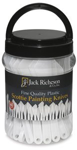 Jack Richeson Flexible Painting Knives (Set of 60) by Jack Richeson