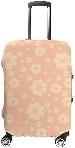 スーツケースカバー 桜の花 ピンク 伸縮素材 キャリーバッグ お荷物カバ 保護 傷や汚れから守る ジッパー 水洗える 旅行 出張 S/M/L/XLサイズ