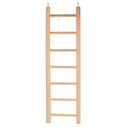 Trixie Wooden Bird Ladder For Parrots, 5 Rungs/45 Cm - Ideal